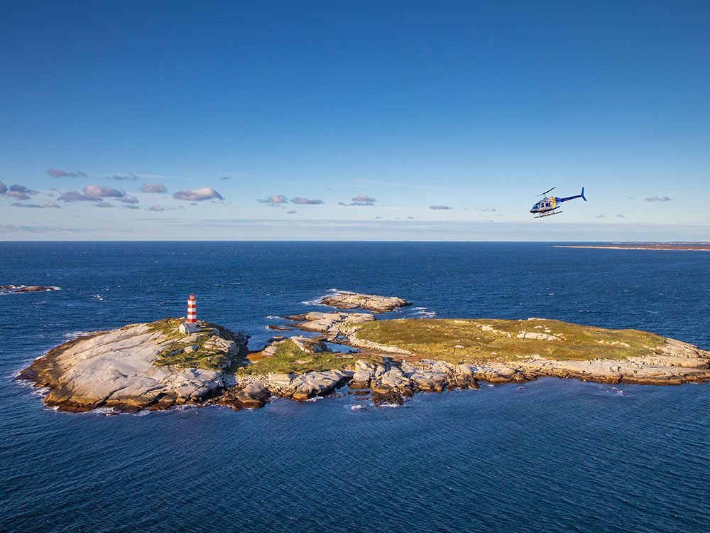 Canadian attractions - oldest lighthouse in North America