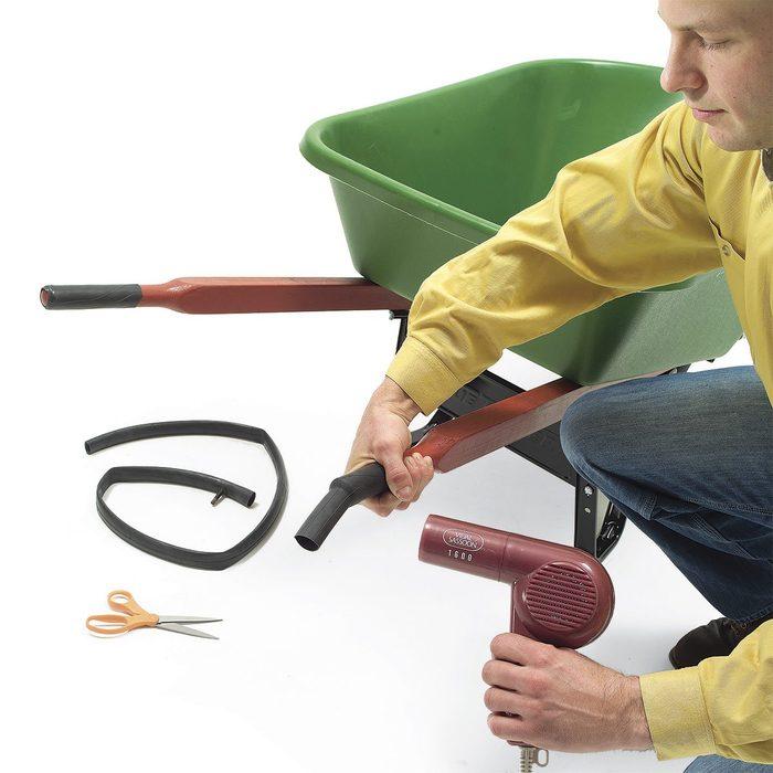 bike tube for wheelbarrow handles