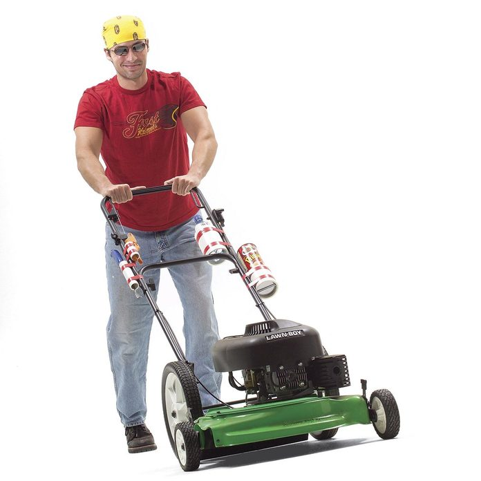accessorize your lawn mower