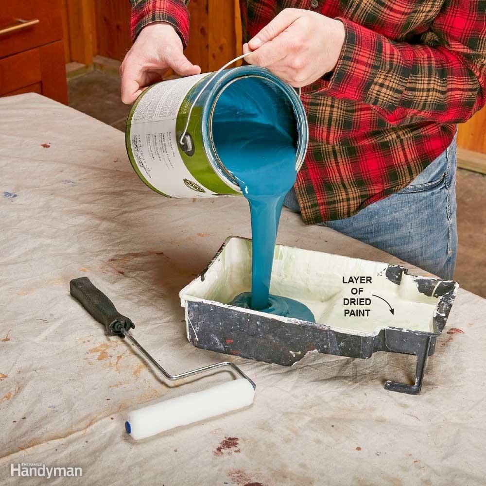 No-Maintenance Paint Tray