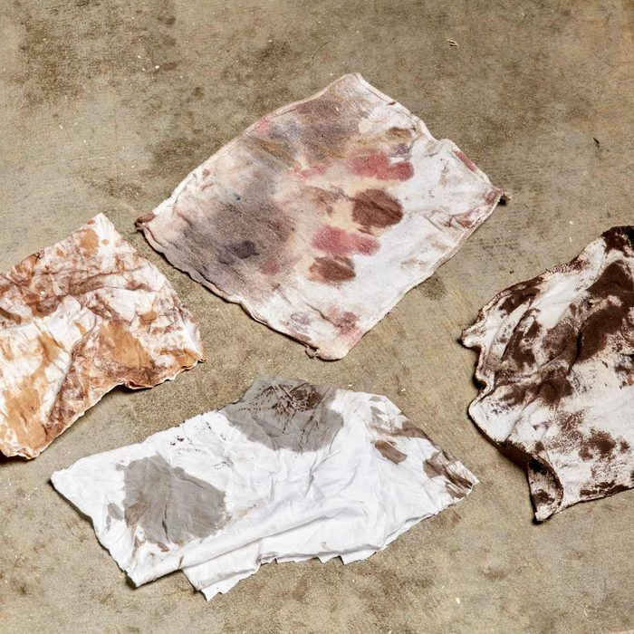 never store in your garage - dirty paint rags