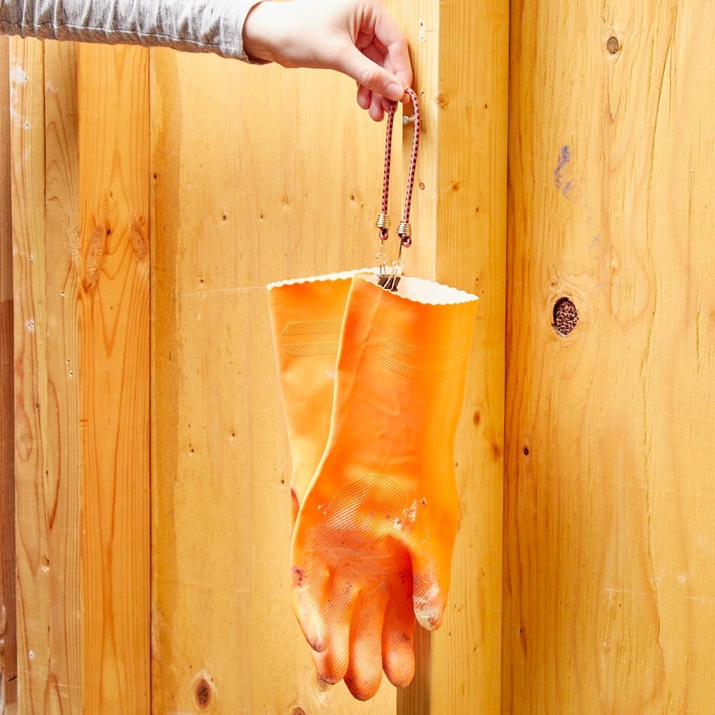 HH dry latex gloves