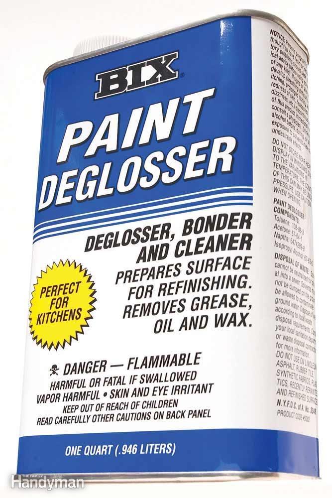 Consider Liquid Sandpaper, Especially on Lead Paint