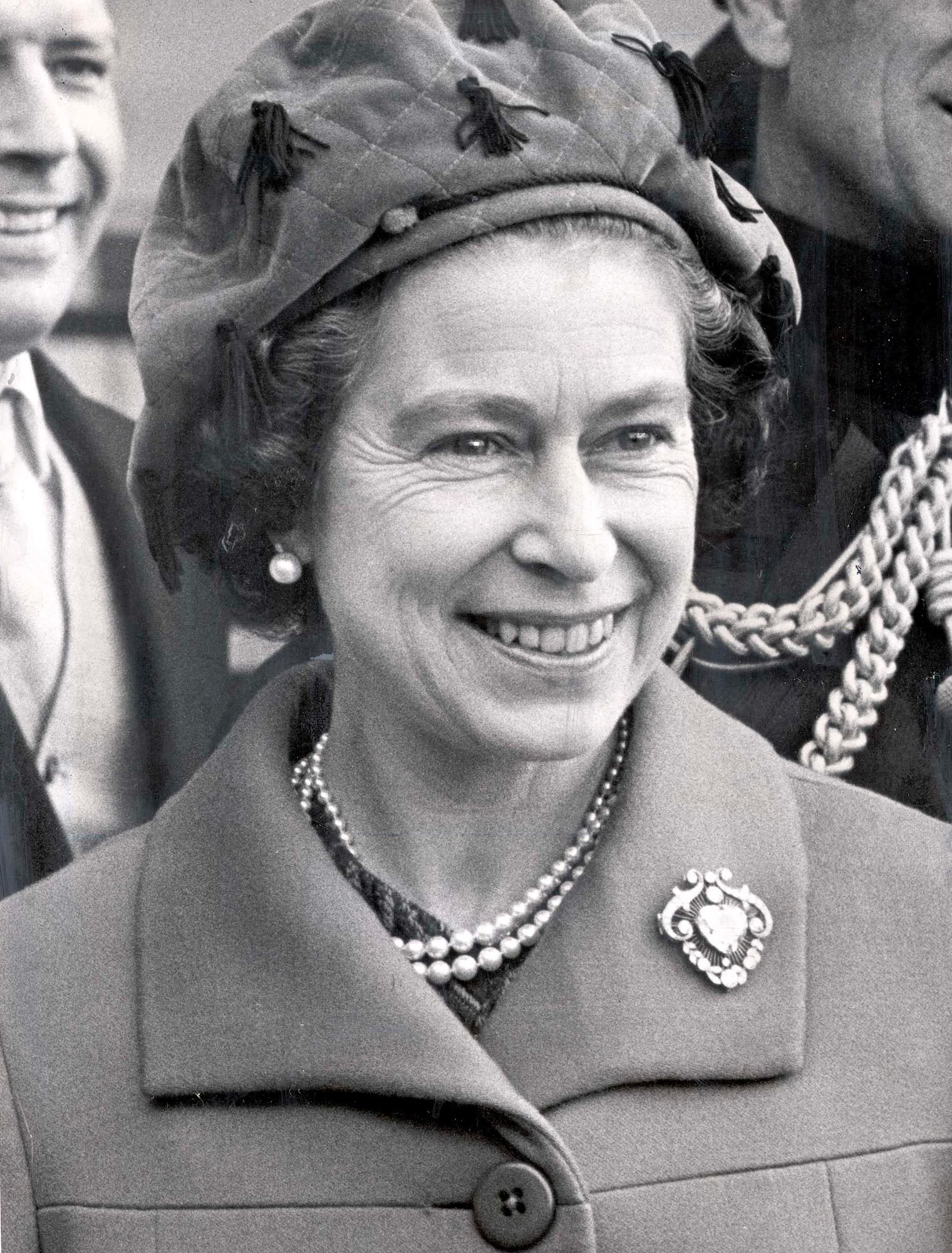 Queen Elizabeth II 1976