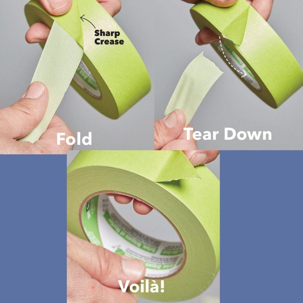 tape trick tearing