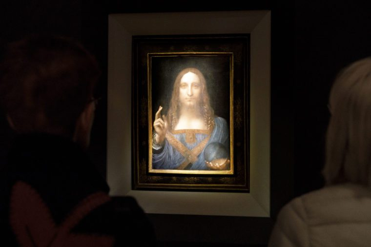 Auction Preview of Leonardo da Vinci Painting Salvator Mundi, New York, USA - 15 Nov 2017