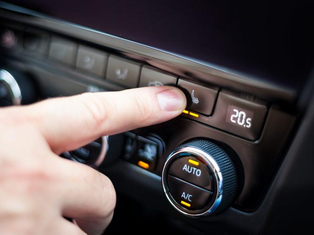 Car's HVAC system