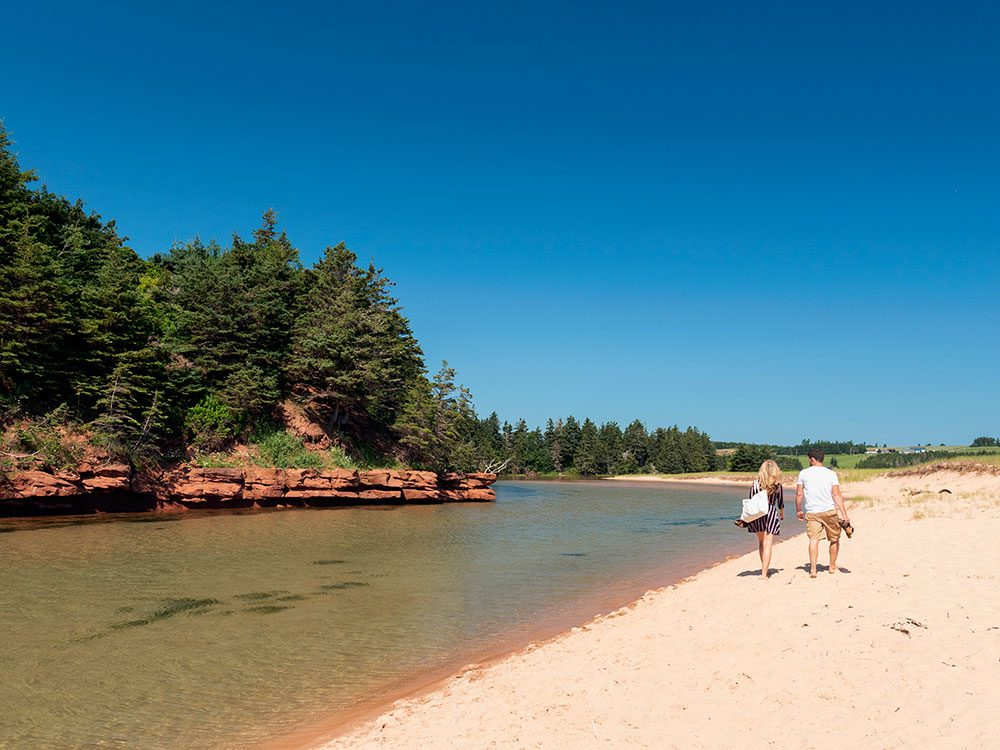 Canadian attractions - Basin Head singing sands