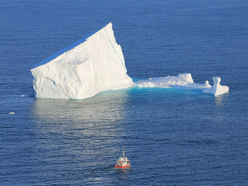 Canadian attractions - Iceberg Nest, Newfoundland