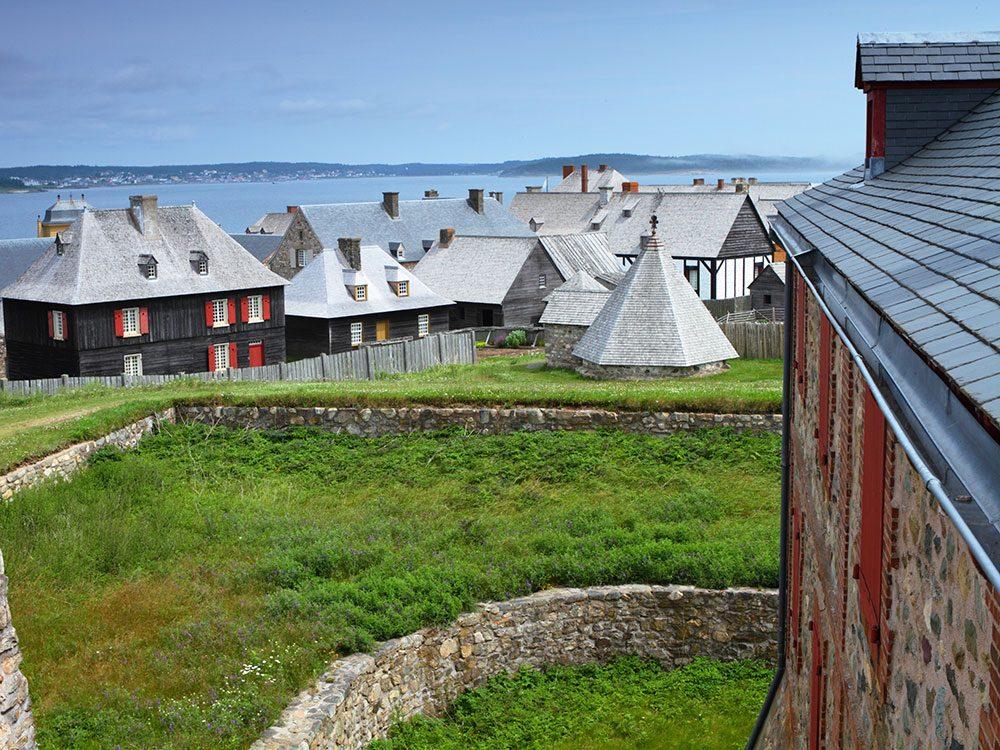 Canadian attractions - Louisbourg Nova Scotia