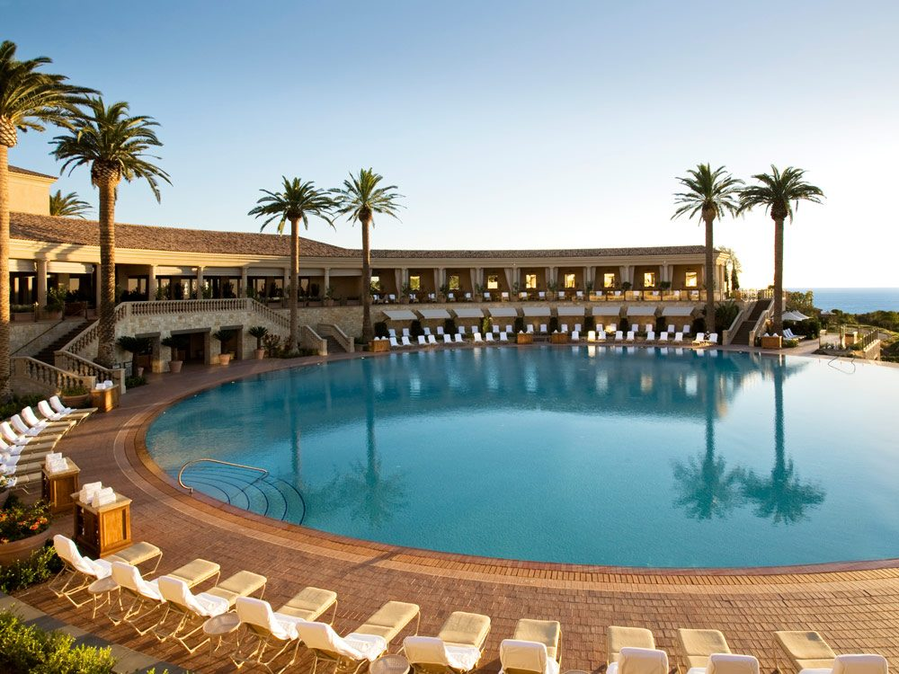 Coliseum Pool, Resort at Pelican Hill, Newport Beach, California