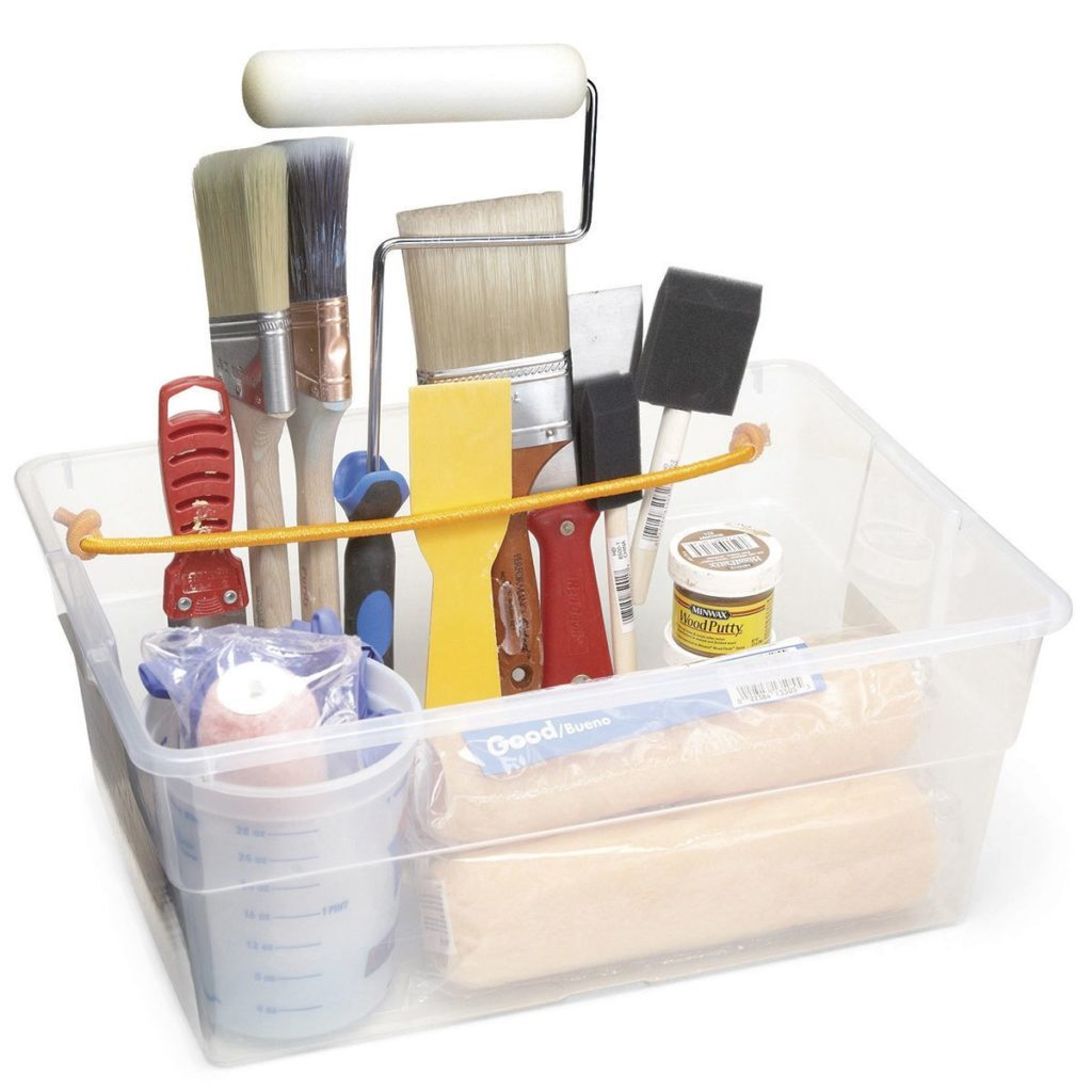 Painting gear organizer