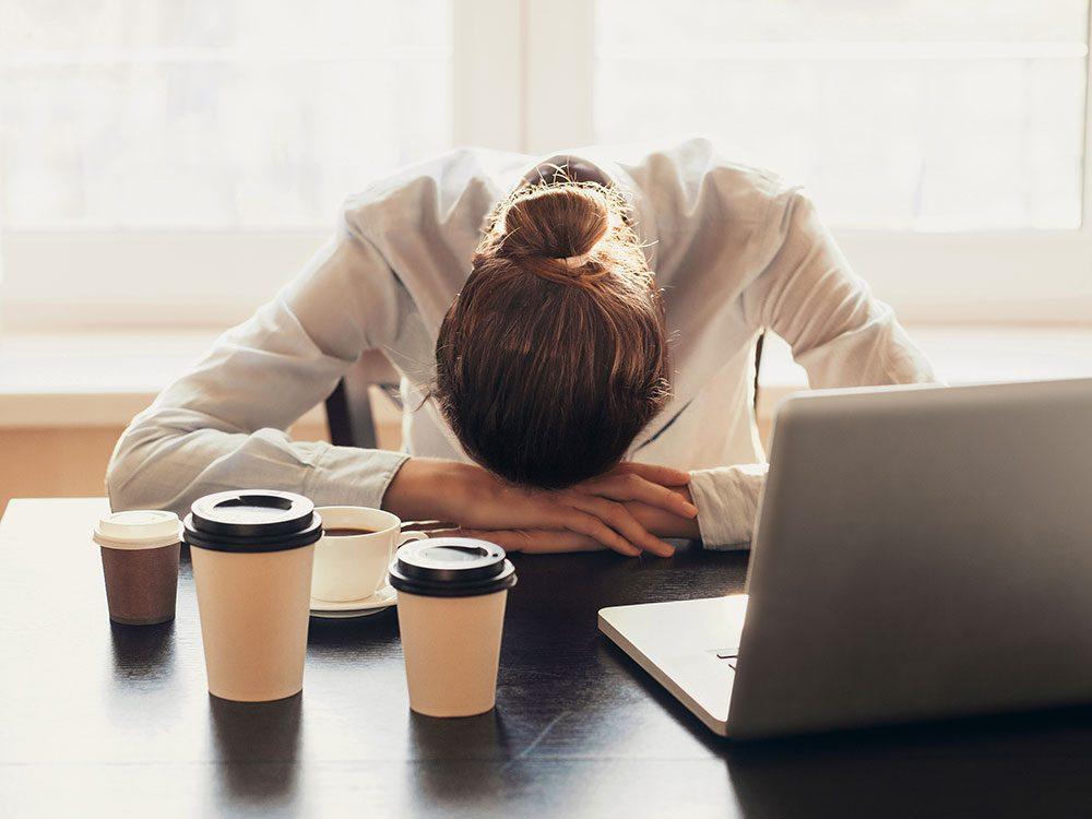 Hormone imbalance symptoms - fatigue