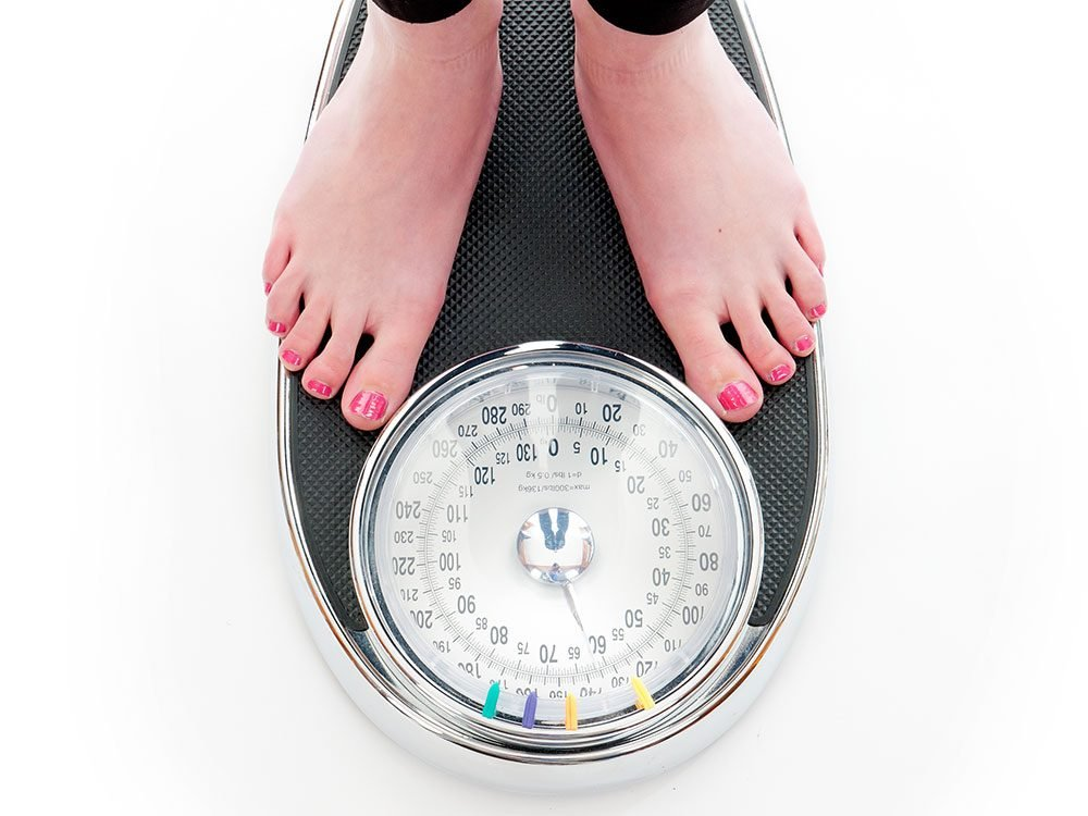 Hormone imbalance symptoms - fluctuating weight