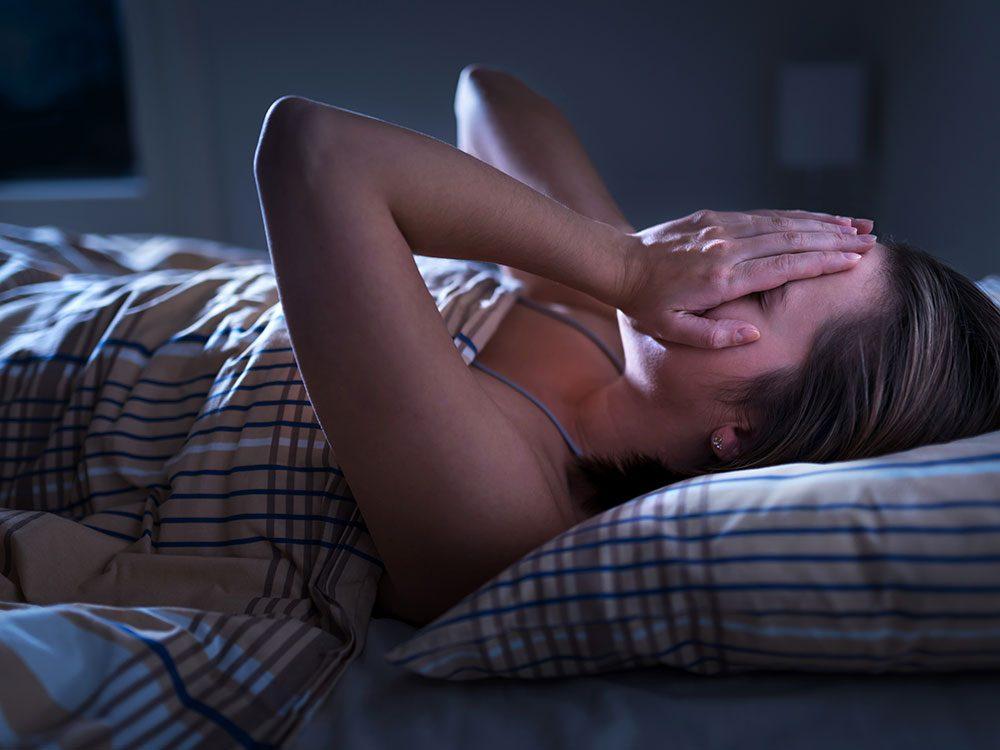 Hormone imbalance symptoms - insomnia
