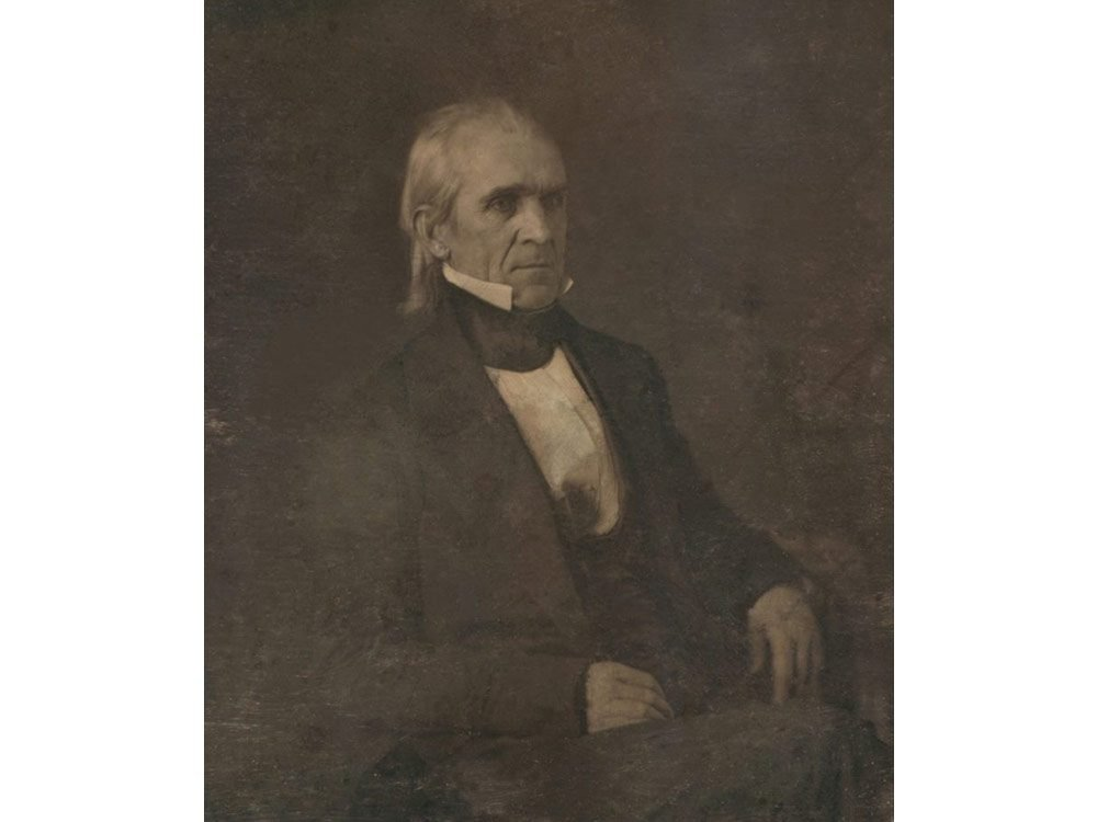 Iconic photos: James K. Polk