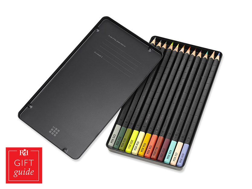Mother's Day gifts - Staples coloured pencils