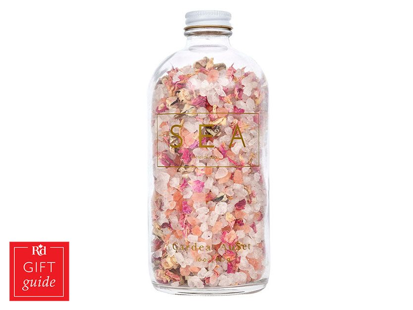 Mother's Day gifts - Cardea AuSet sea mineral bath soak
