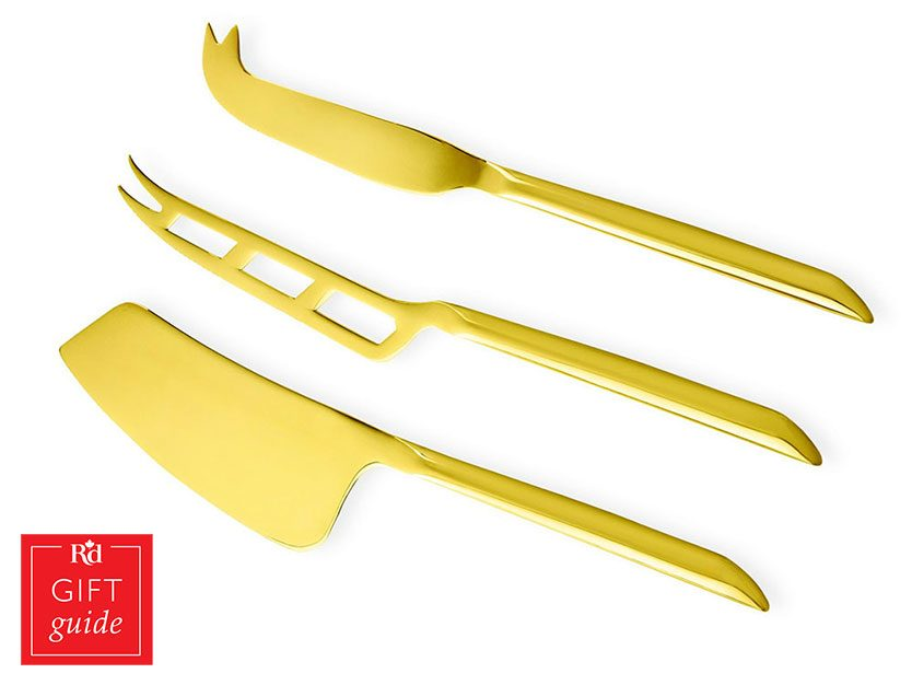 Mother's Day gifts - gold-plated knives