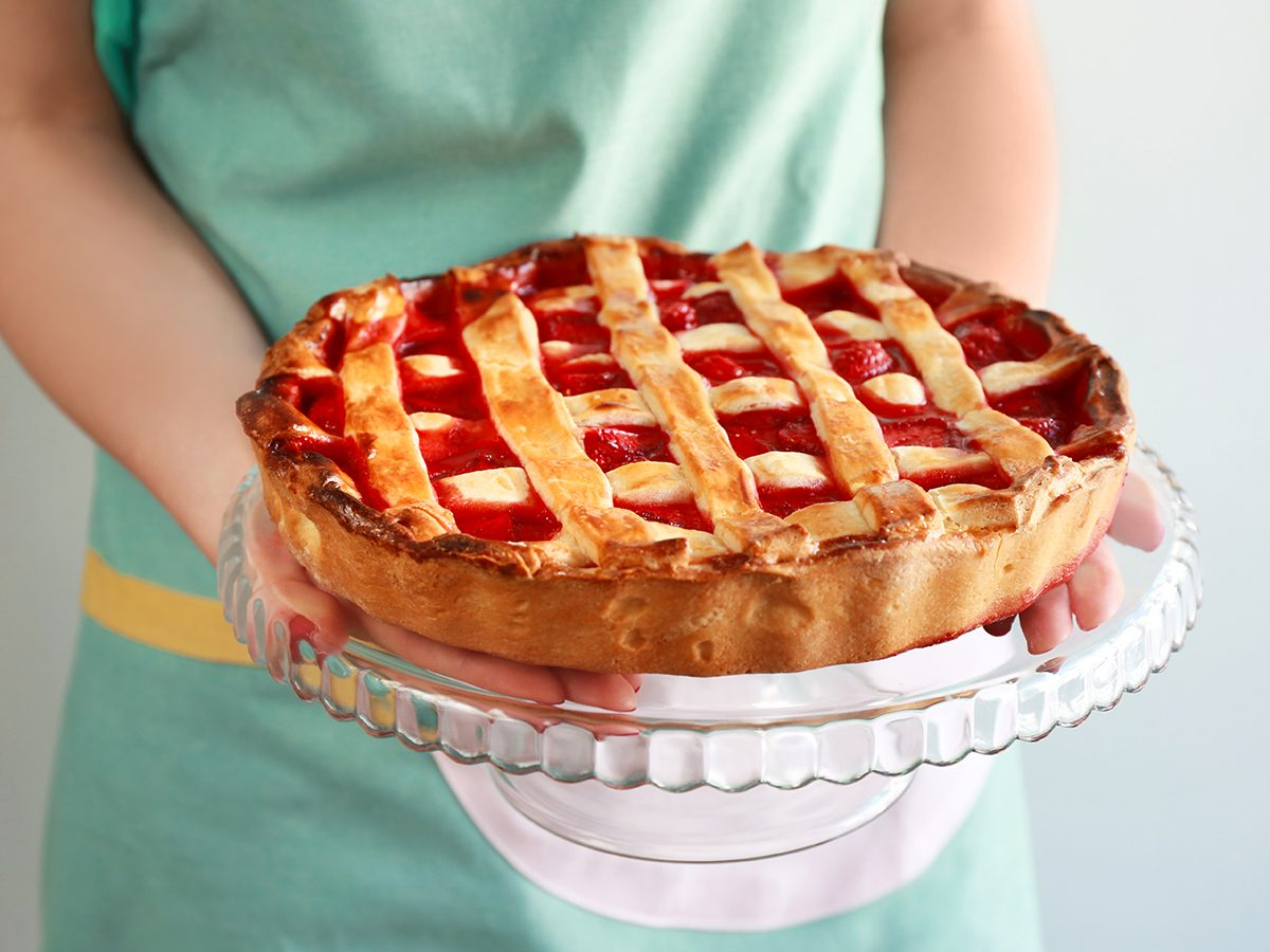 Mother's Day quotes - Mother holding pie