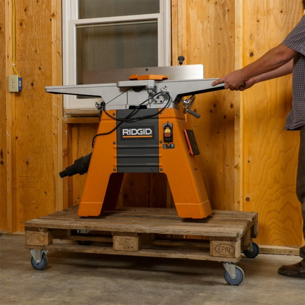 pallet dolly moving joiner
