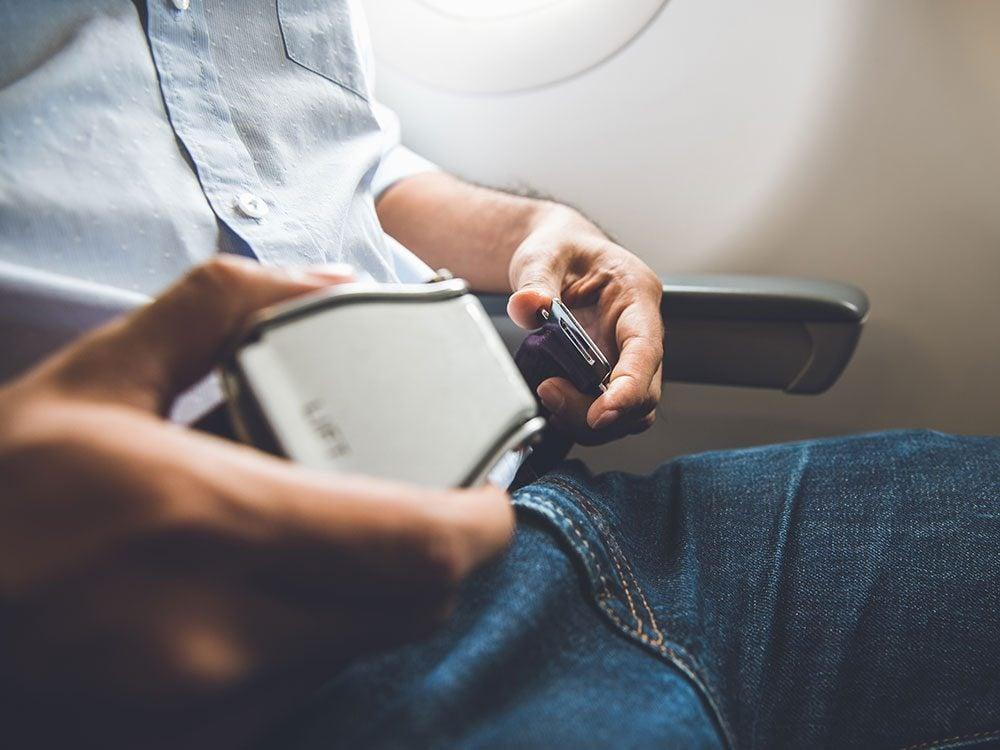 Pilots secret phrases - crotch watch