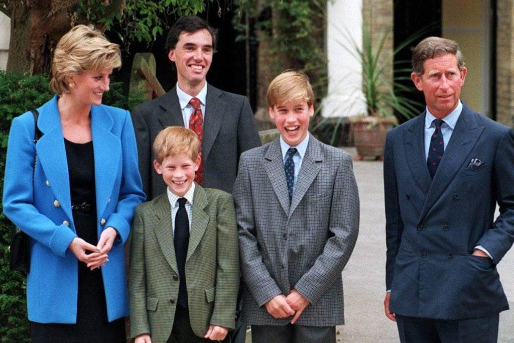 PRINCE WILLIAM, Princess Diana, PRINCE CHARLES AND PRINCE HARRY