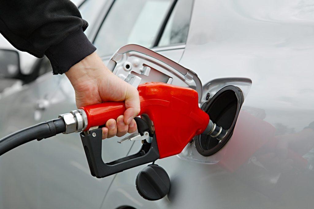 pump gas car