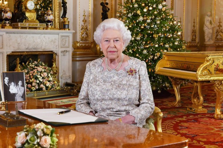 Queen Elizabeth II Christmas broadcast, London, UK - 25 Dec 2018