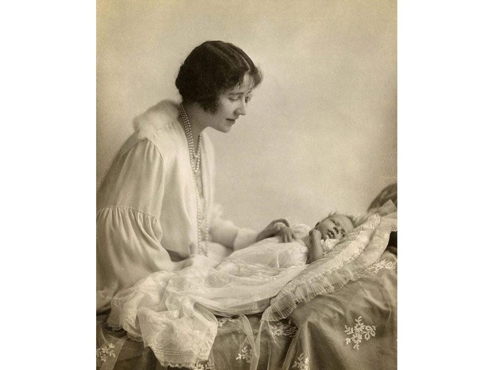 Baby Queen Elizabeth