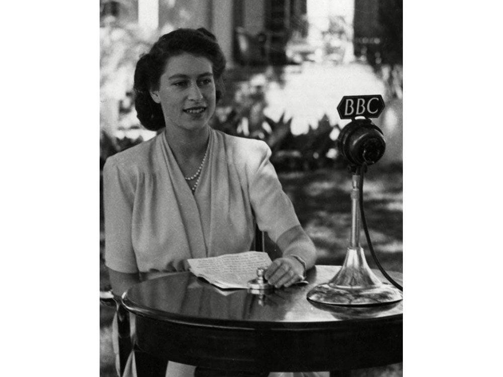 Queen Elizabeth at 18