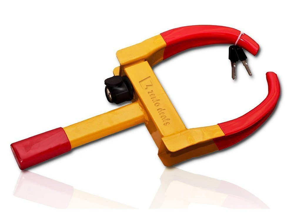 Security tire clamp