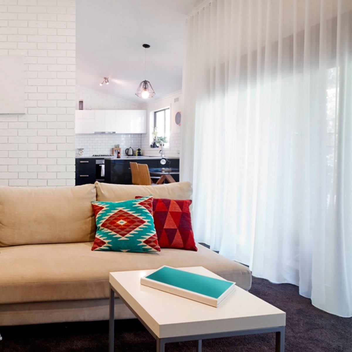 Small Room Ideas: Sheer Window Treatments