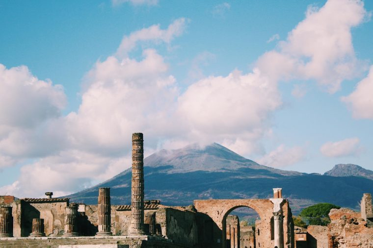 Pompeii and Vesuvio