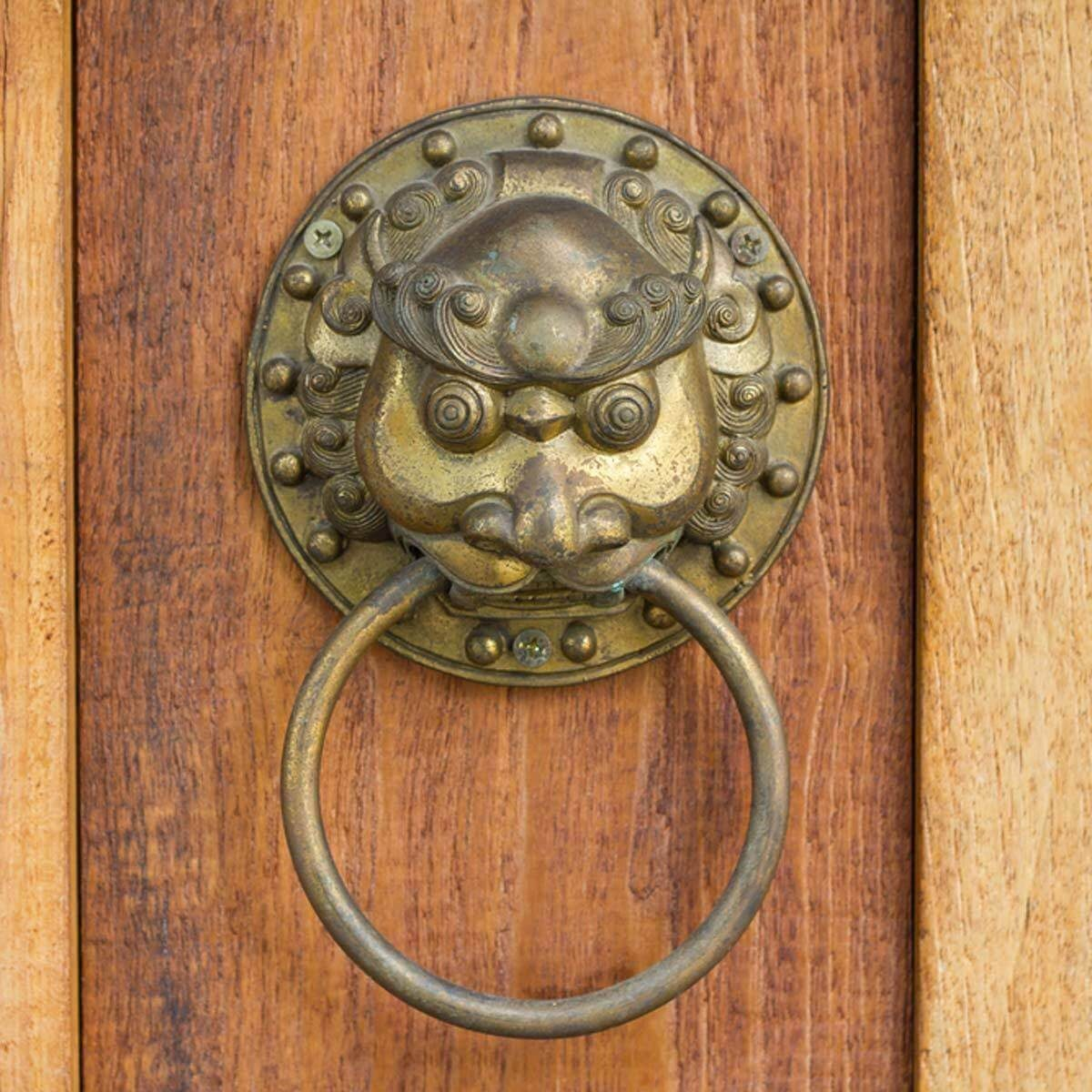 ornate door knocker hardware