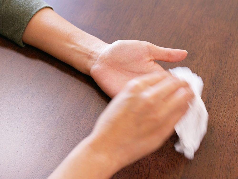 sweaty palms - why do I sweat so much