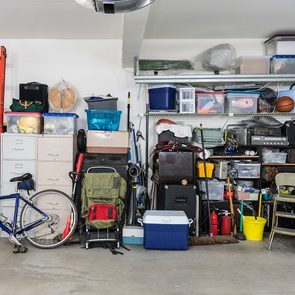 Things you should never store in your garage