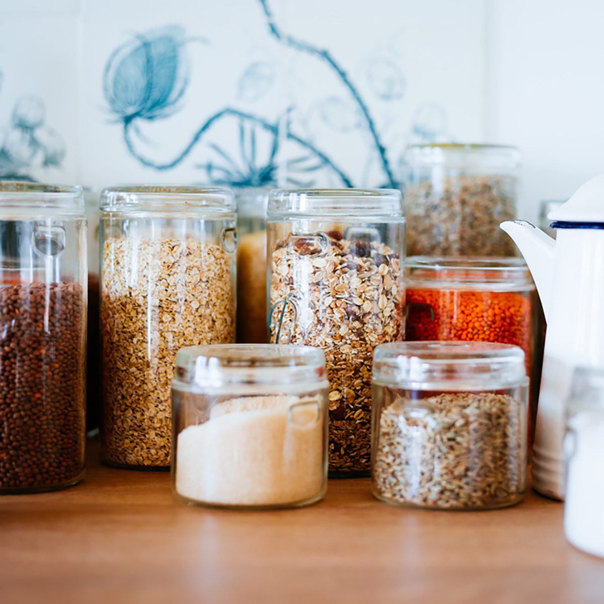 Uses for Mason jars - store bulk goods