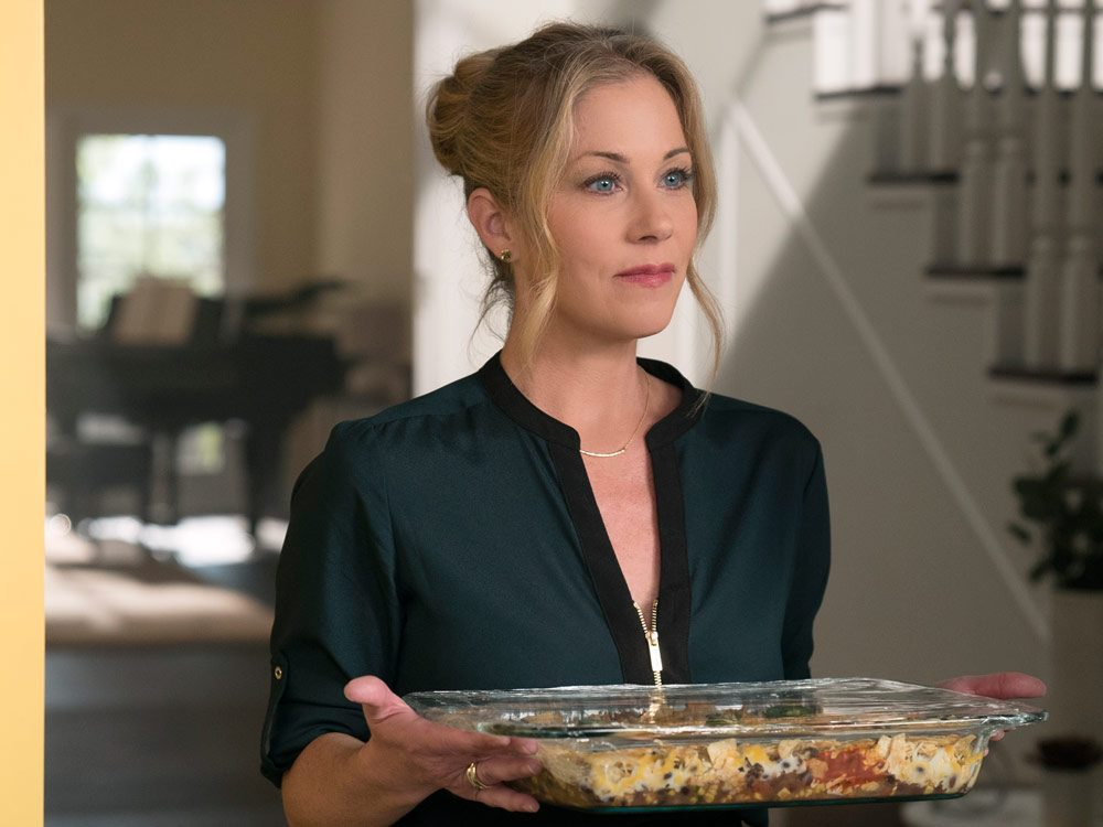 "Christina Applegate in Netflix Canada's ""Dead to Me"""