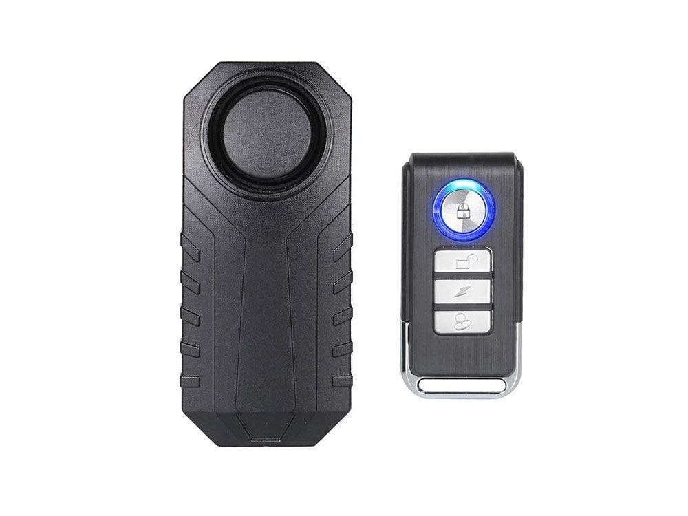 Wireless anti-theft burglar security alarm