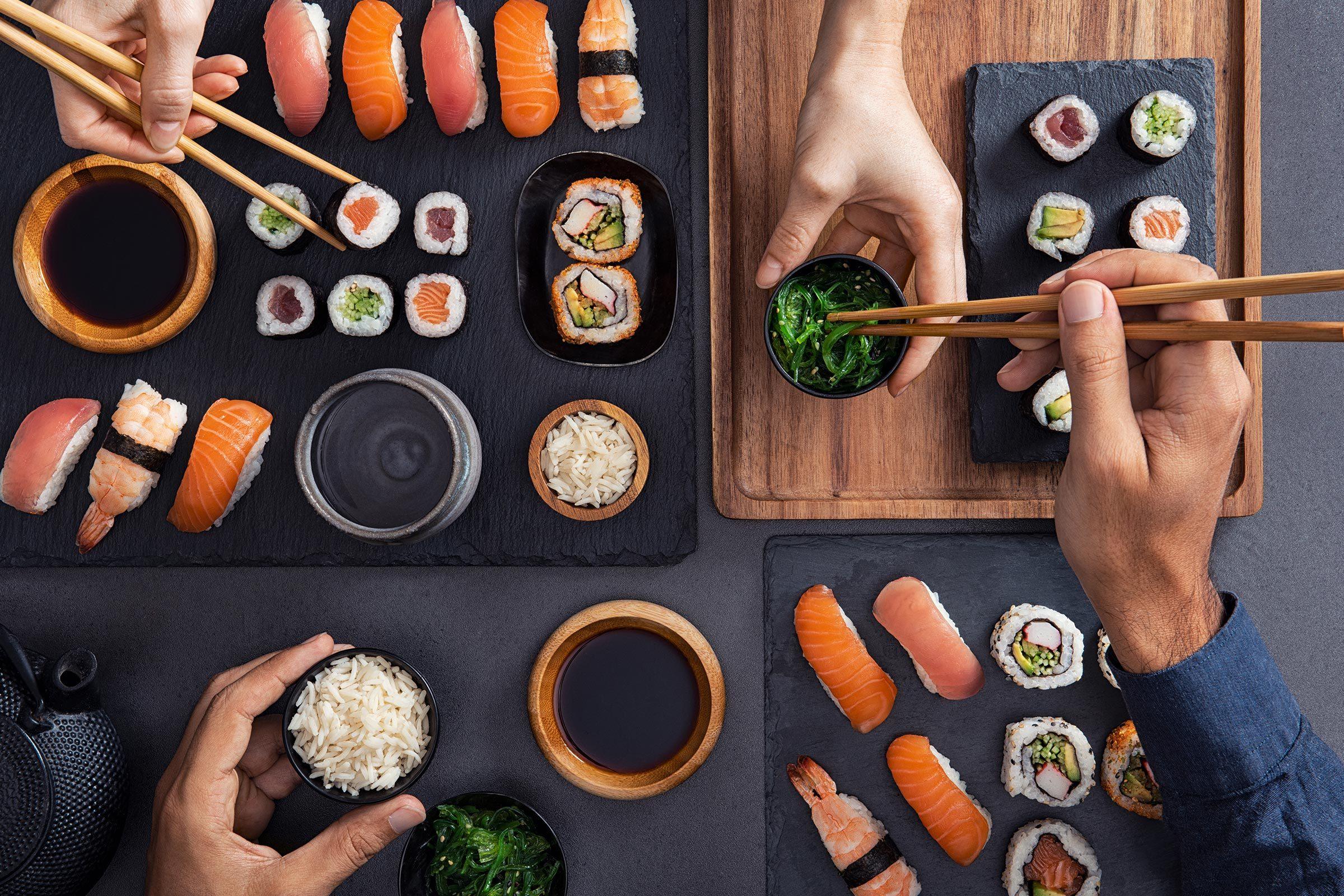 sushi friends