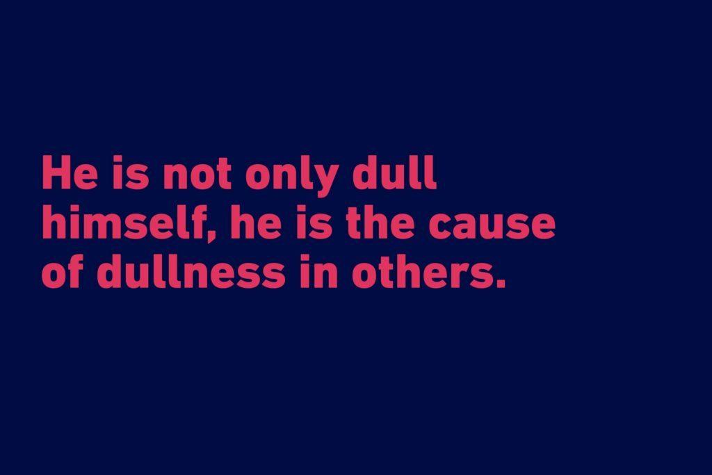 Samuel Johnson funny quote