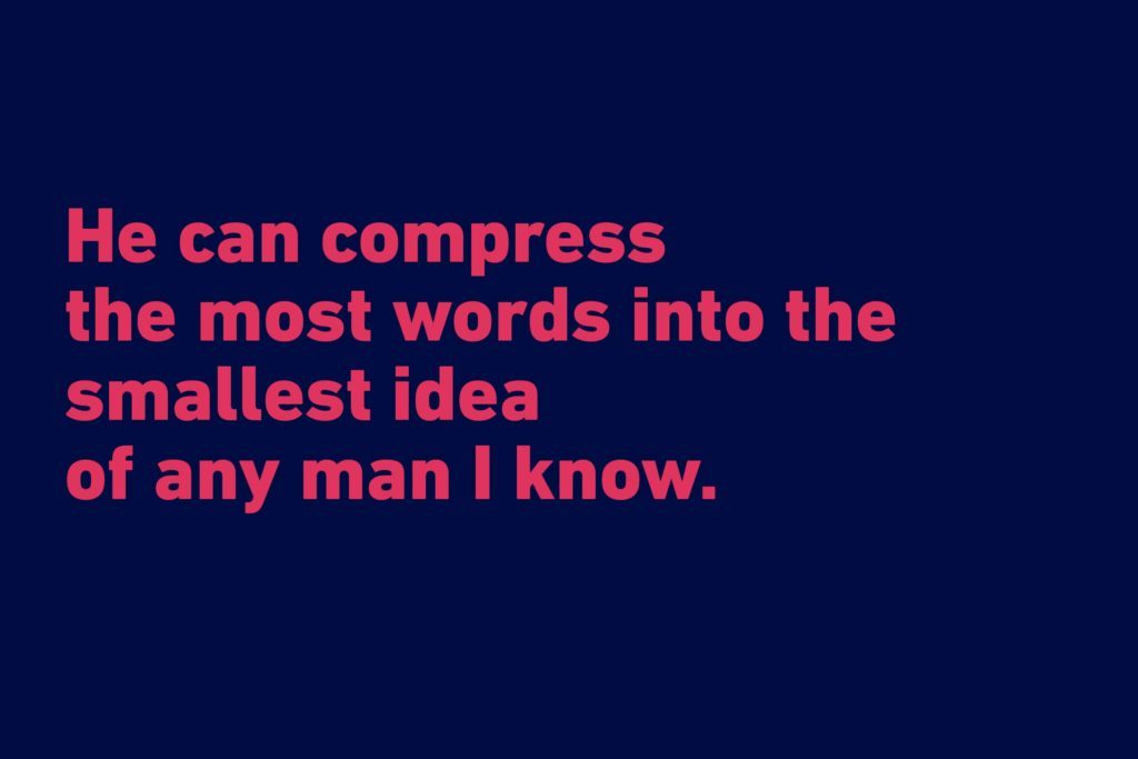 Abraham Lincoln funny quote