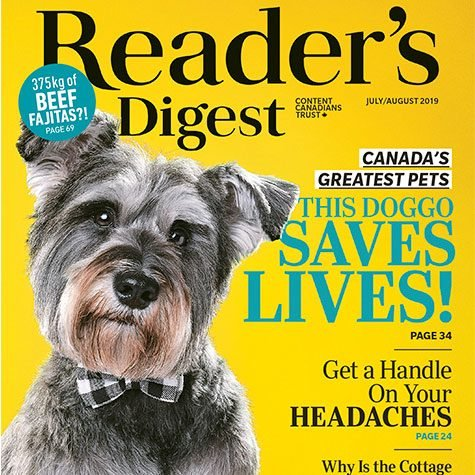 Inside the July/August 2019 Issue of Reader's Digest Canada
