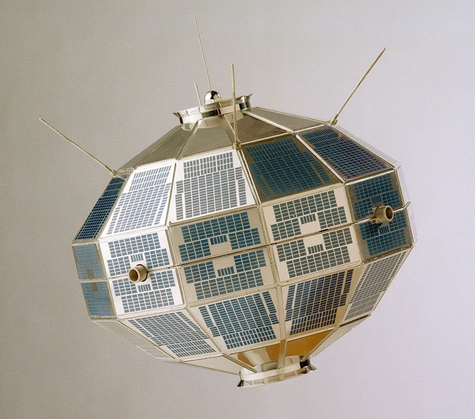 Canadians space exploration - Alouette 1 satellite