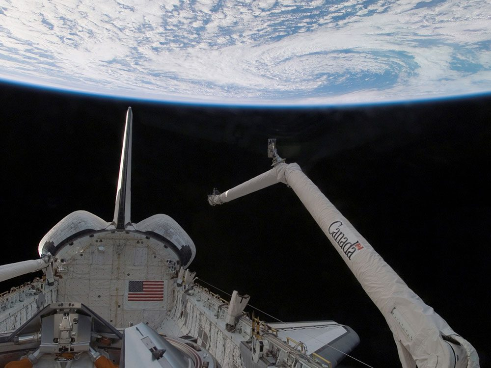 Canadians space exploration - Canadarm