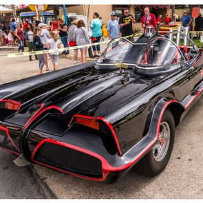 Celebrity owned cars at auction - original Batmobile