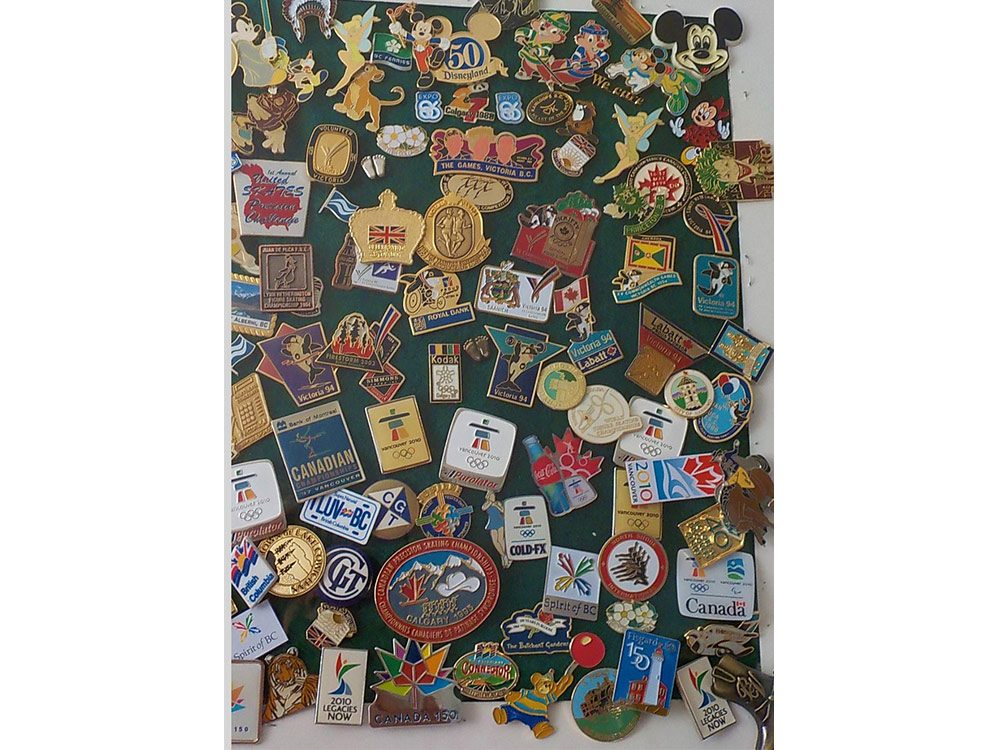 Canadian collections - pins