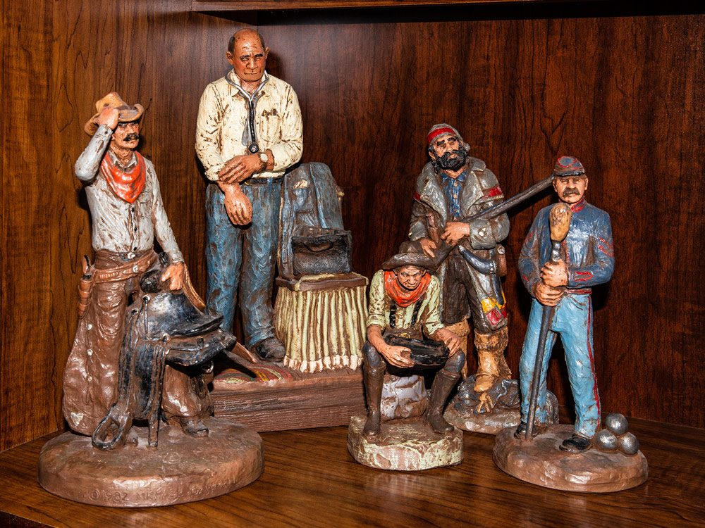 Michael Garman sculptures