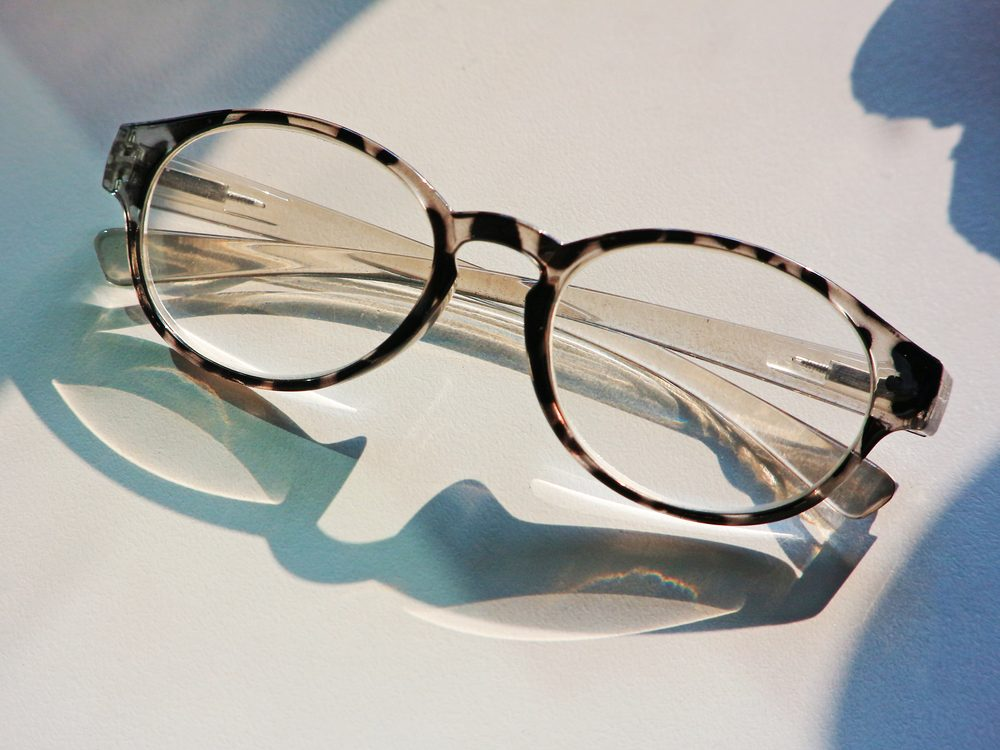 Trendy reading glasses